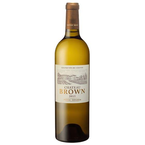 Laguna Cellar featuring Château Brown Blanc 2015