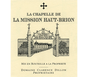 Laguna Cellar featuring La Chapelle de La Mission Haut-Brion 2015