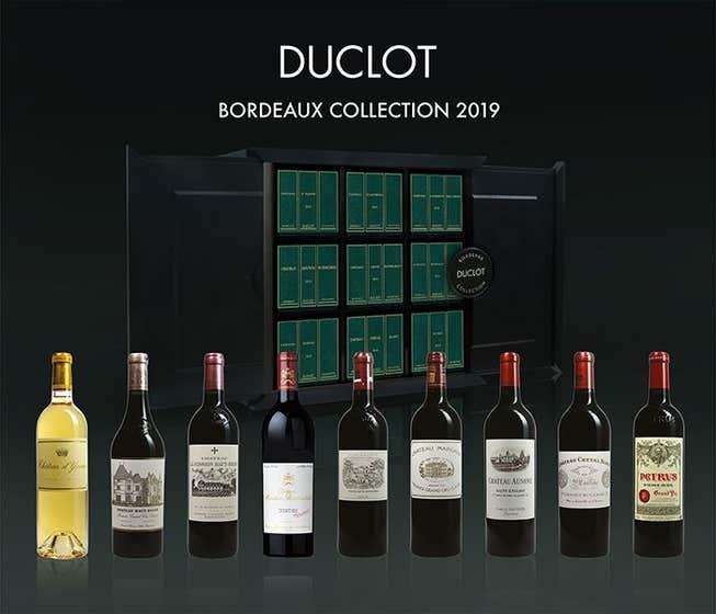 Laguna Cellar featuring Duclot Bordeaux Prestige Collection 2019