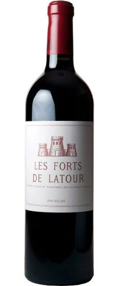 Laguna Cellar featuring Les Forts de Latour 1996