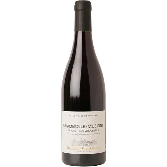 Laguna Cellar featuring Henri de Villamont Chambolle-Musigny 1er Cru Les Groseilles 2013