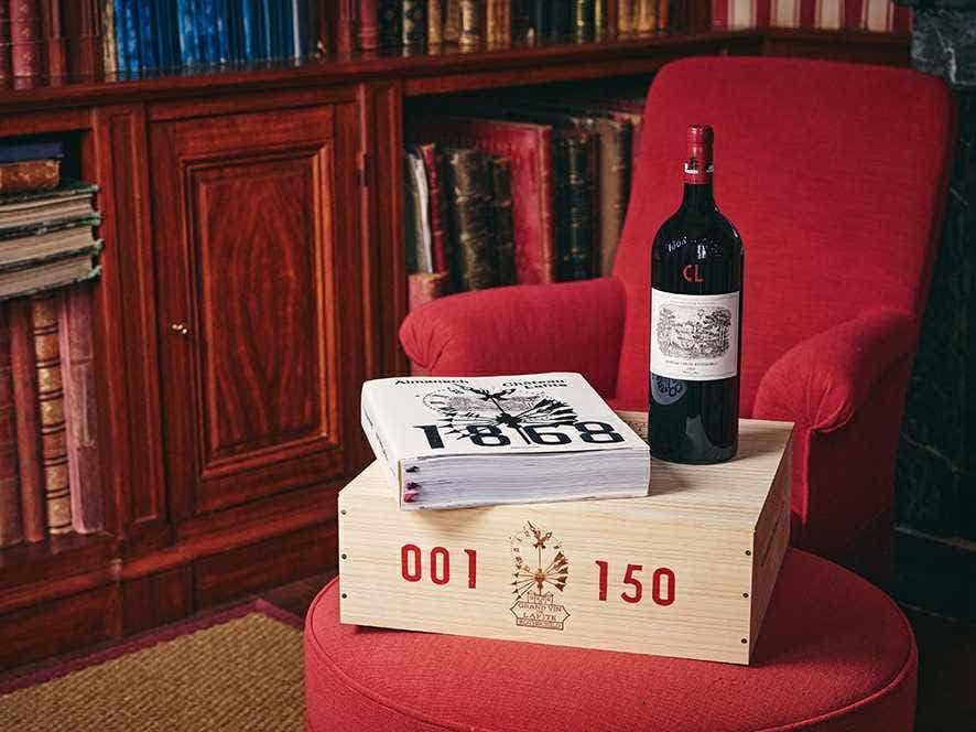 Château Lafite Rothschild 2018 150th Anniversary Almanac Case